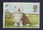 Stamps United Kingdom -  Perros