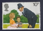 Stamps United Kingdom -  Policia