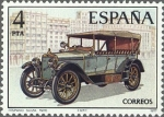 Sellos de Europa - España -  ESPAÑA 1977 2410 Sello Nuevo Automoviles Antiguos Españoles Hispano Suiza