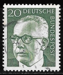 Stamps : Europe : Germany :  Alemania-cambio