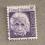 Stamps United States -  Einstein