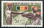 Stamps Africa - Mali -  Pioneros