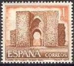 Stamps Spain -  ESPAÑA 1977 2417 Sello Nuevo Serie Turistica Puerta de Toledo (Ciudad Real)