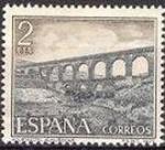 Stamps Spain -  ESPAÑA 1977 2418 Sello Nuevo Serie Turistica Acueducto Romano Almuñecar (Granada)
