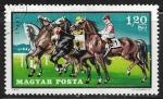 Stamps : Europe : Hungary :  Equitacion