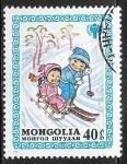 Stamps : Asia : Mongolia :  Año internacional del niño 1979