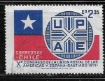 Sellos del Mundo : America : Chile : X Congreso de la Union Postal de las Americas