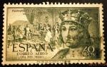 Stamps Spain -  Correo aéreo  V Centenario del nacimiento de Fernando el Católico
