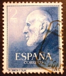 Stamps : Europe : Spain :  Doctores Ramón y Cajal y Ferrán