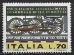 Stamps : Europe : Italy :  Congreso Internacional de Ferrocarriles