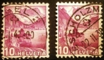 Stamps Switzerland -  Paisajes