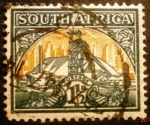 Stamps South Africa -  Mina de oro