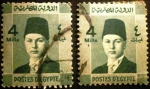 Stamps Egypt -  Rey Farouk