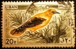 Stamps Lebanon -  Oropéndola