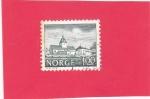Stamps Norway -  Austrat Manor, 1650