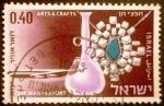 Stamps Israel -  Exportaciones (Jet, Arts and Crafts)