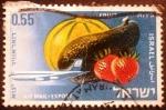 Stamps Israel -  Exportaciones (Jet and Fruits)