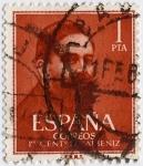 Stamps : Europe : Spain :  I centenario de Isaac Albéniz