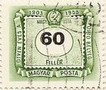 Stamps Hungary -  PORTÓ BELYEG