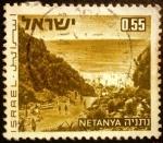 Stamps Israel -  Paisaje. Netanya