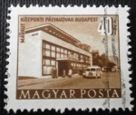 Stamps Hungary -  Edificios