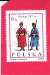 Stamps Poland -  Oficiales de Infantería no comisionados