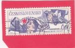 Stamps : Europe : Czechoslovakia :  El 30 aniversario del Movimiento por la Paz