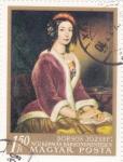 Stamps : Europe : Hungary :  RETRATO