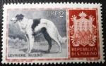 Stamps San Marino -  Perros. Lebrero