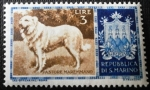 Stamps San Marino -  Perros. Pastor Maremmano