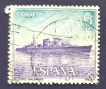 Stamps : Europe : Spain :  Barcos
