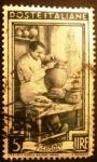 Stamps Italy -  Potter, Palazzo della Signoria, Florence (Tuscany)
