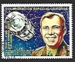 Stamps : Africa : Equatorial_Guinea :  Cooperación espacial Estados Unidos / URSS, Yuri Gagarine