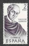 Stamps : Europe : Spain :  Edif 1998 - Forjadores de América. México