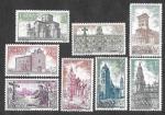 Stamps : Europe : Spain :  Edif 2063 a 2070 - Año Santo Compostelano