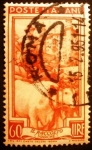 Stamps Italy -  Profesiones. Driving in the Harvest, Ducal Palace in Urbino (Marche)