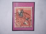 Stamps : Asia : Japan :  Grullas - Grullas de Corona Roja (Grus japonensis)
