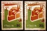 Stamps Italy -  Año Europeo para la Conservación de la Naturaleza