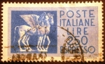 Stamps Europe - Italy -  Etruscan Winged Horses