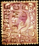 Stamps Europe - United Kingdom -  Rey Jorge V