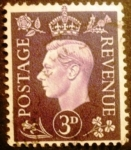 Stamps Europe - United Kingdom -  Rey Jorge VI
