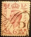 Stamps Europe - United Kingdom -  Rey Jorge VI