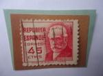 Stamps : Europe : Spain :  Ed:Es 737 - Pablo Iglesia (1850-1925)-Obrero Español, padre del Socialismo Español.