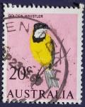 Stamps Australia -  Pajaros