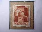Stamps : Europe : Hungary :  Esteban I de Hungría-Santa Corona Húngara- Sacra Corona Húngara del Primer monarca Húngaro.