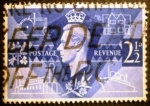 Stamps Europe - United Kingdom -  Jorge VI. Symbols of Peace and Reconstruction