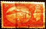 Stamps Europe - United Kingdom -  Rey Jorge VI. White Cliffs of Dover