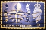 Stamps Europe - United Kingdom -  Rey Jorge VI. Festival of Britain