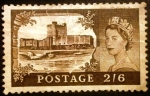 Stamps Europe - United Kingdom -  Reina Isabel II. Carrickfergus Castle