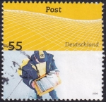 Stamps : Europe : Germany :  Cartero
